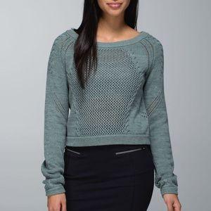 Lululemon 'Be Present' Puller Over Knit Sweater 6